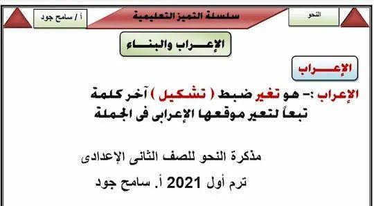 Pin By موقع مدرستى التعليمى On مذكرات اللغة العربية Math Grammar Math Equations