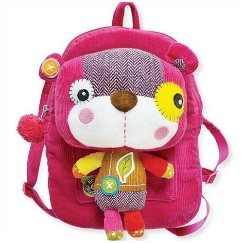 Smile a Lot Bear Back Pack. Toddler size backpack with removable ...