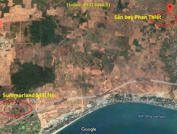 Cách sân bay Phan Thiết chỉ 5 phút chạy xe oto
