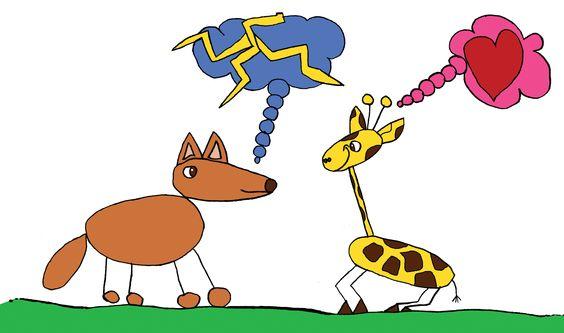 Spiekbriefjes giraffentaal in PDF, om te leren praten in verbinding en zonder oordelen. Op downloadpagina van www.gedachte-kracht.nl