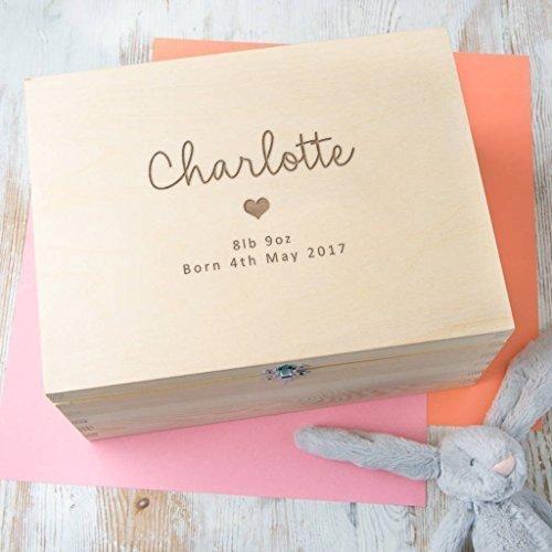 New Mum New Baby Gift Box Personalised Baby Shower Keepske Gift Box
