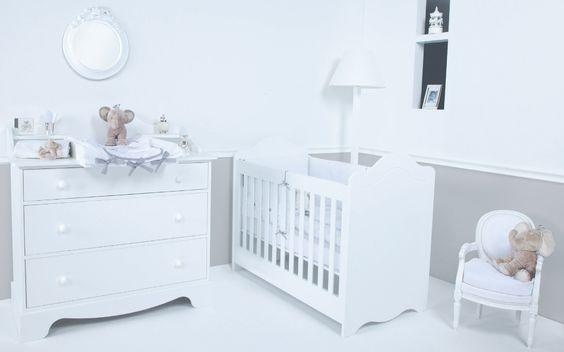 Bebe Dort Seul Dans Sa Chambre : Tartine et Chocolat  Mobilier Nurserie Blanc  Chambre bébé