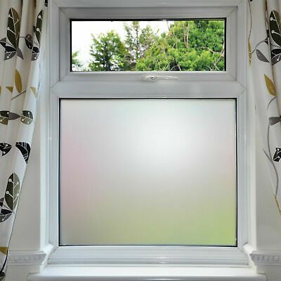 Details About Frosted Window Film Privacy White Opal Frost Glass
