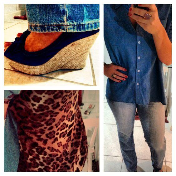 Total jeans + Via Marte wedges