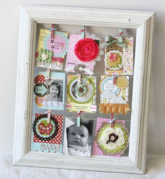 cute use of a frame