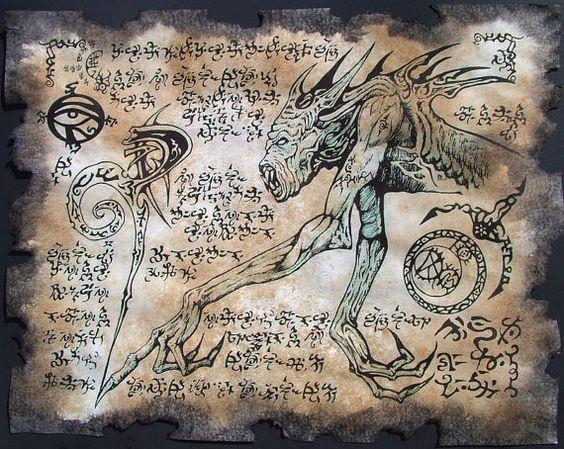 El Necronomicón,un libro salido de los infiernos 9167ca3251cc2978a8889ebd13b5f411