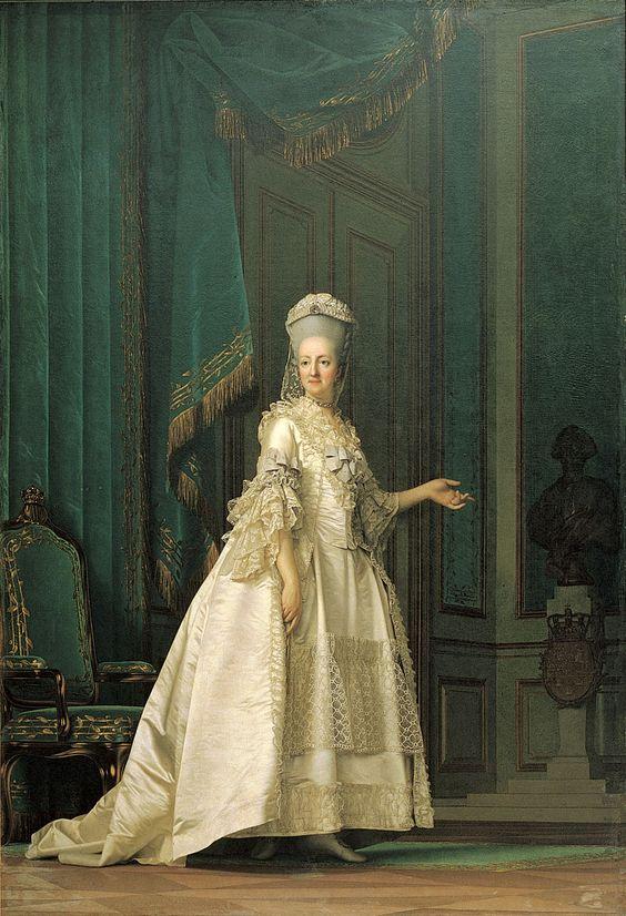 "Vigilius Eriksen (1722-82), ""Enkedronning Juliane Marie"", 1776. Statens Museum for Kunst / National Gallery of Denmark. http://www.smk.dk/index.php?id=1165"