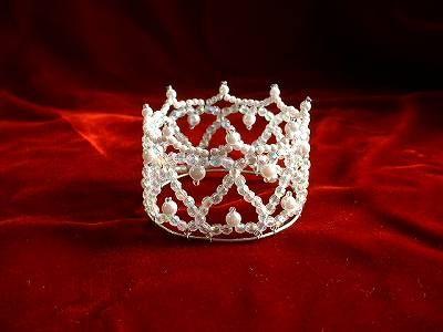 beads mini crown ハートのミニクラウン