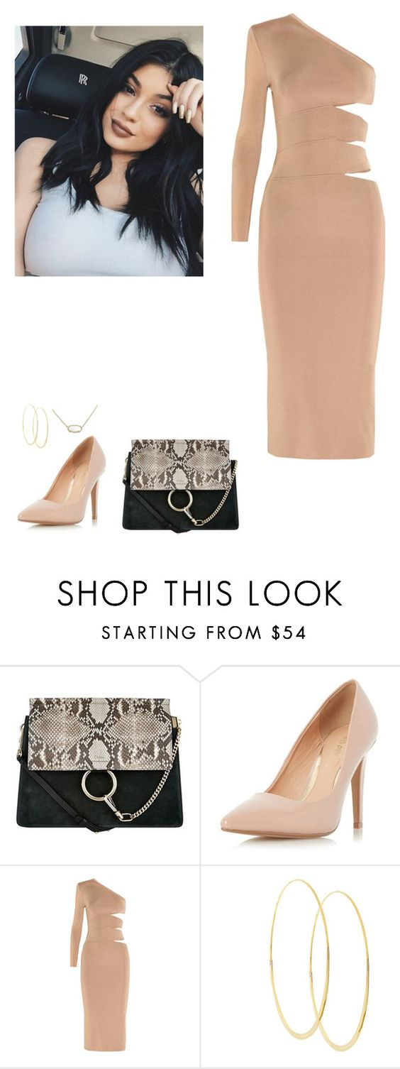 """Bez tytułu #390"" by ola-smigielska ❤ liked on Polyvore featuring Chloé, Dorothy Perkins, Balmain, Lana and Kendra Scott"