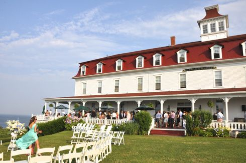 Spring House Hotel Wedding Block Island Ri Pamela And Nick