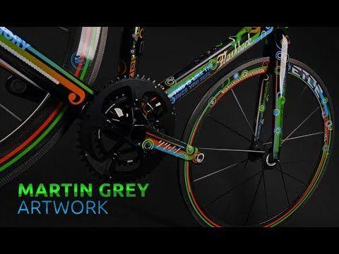 Etoe Youtube Grey Artwork Custom Bikes Bike
