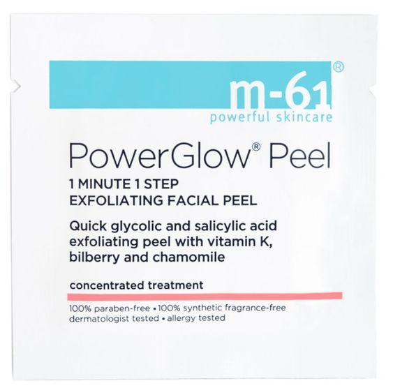 m-61 PowerGlow Peel - love this exfoliating facial peel!