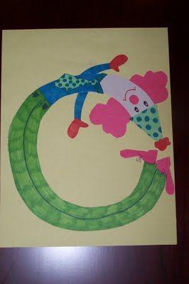 La Princesse et la Tot: Artisanat de lettre - majuscules et minuscules