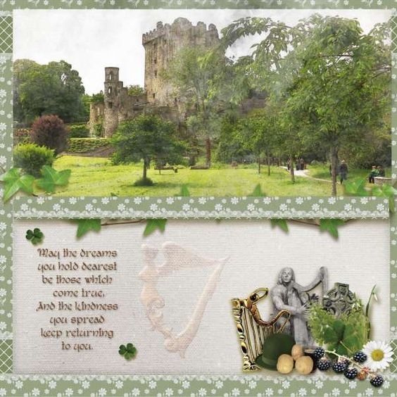 Collections :: A :: A Little Irish by Zesty Designs :: A Little Irish - The Kit