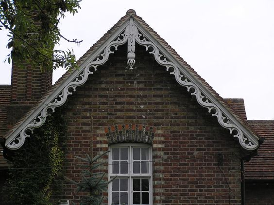 My house love and gingerbread on pinterest for Architectural gingerbread trim