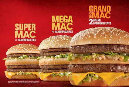 McDonald's celebra sucesso do Big Mac com três versões turbinadas. Saiba mais no site www.arrozdefyesta.net.
