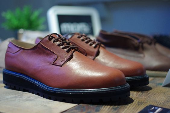 mors footwear fw13 @ pitti uomo. Wild scottish deerskin shoes with vibram sole