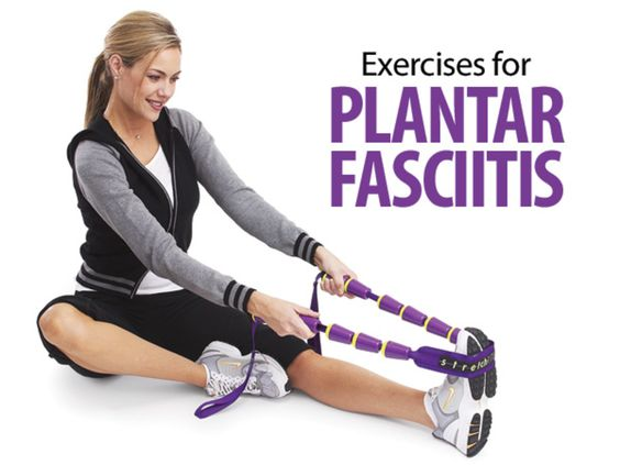 Follow these simple exercise tips to help ease the pain of plantar fasciitis.