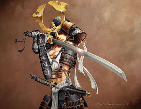 Sexy Samurai Warrior Girls | samurai | Pinterest | Armors ...