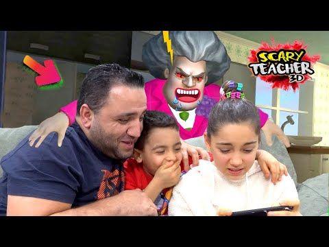 Scary Teacher 3d Deli Ogretmene Operasyon Youtube Teacher Scary Youtube