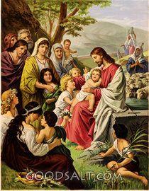 Cristo y los Niños