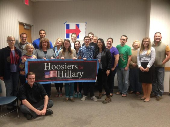 Bloomington, Indiana is ready to get to work for @HillaryClinton #Hillary2016