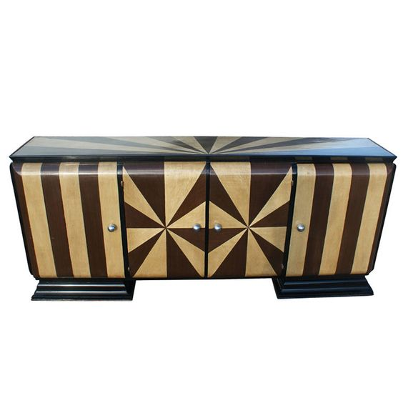 1stdibs - Art Deco Two Tone Inlaid Buffet explore items from 1,700  global dealers at 1stdibs.com