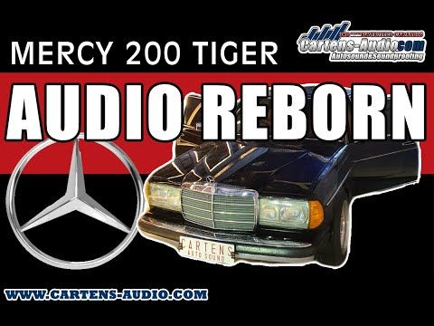 Mercedes Benz 200 W123 Tiger Ini Menolak Tua Dengan Audio Mobil Berkelas Cartensstyle Youtube Mercedes Benz 200 Mercedes Benz Mercedes