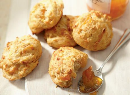 Apricot & Gouda Scones (most comments suggested to drain the apricots ...
