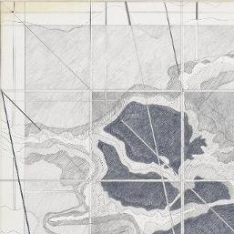 L'œuvre Jardins élémentaires, exposition, Villa Medicis, Rome - Centre Pompidou