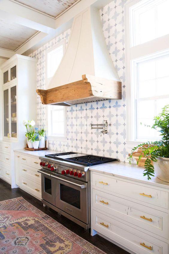 Beautiful Kitchen Backsplash Ideas #kitchen #backsplash Tiles Rustic  Farmhouse Urban Marble Countertops Gold Hardware