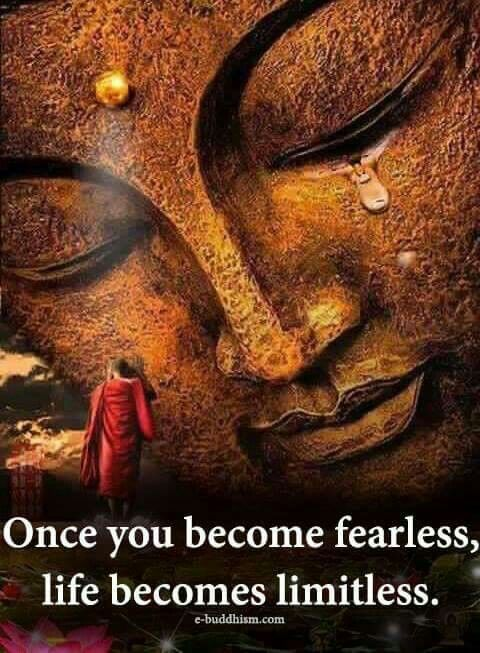 Once you become fearless life become limitless