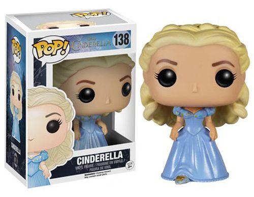 Funko Pop 138 Disney Princess Cinderella Vinyl Figure Fnk5193 Pop Vinyl Figures Disney Pop Funko Pop Dolls