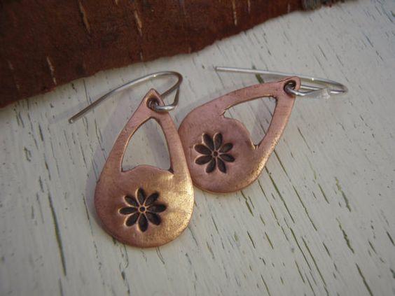 ARTisan Made Daisy Celebration II Earrings  by ARTandElements, $49.00