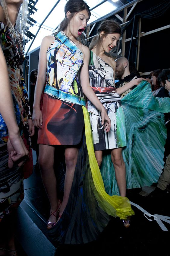 Mary Katrantzou SS12: Welcome to the home of fashion innovation – it has to be London Fashion Week #topshop #LFW #SS12 #MaryKatrantzou Read our show review > http://bit.ly/JOs2I8