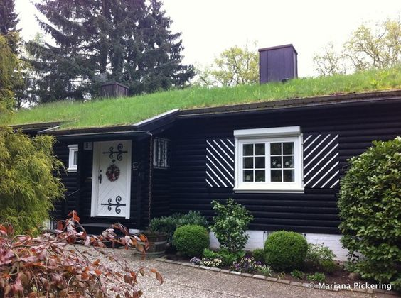 This green roof has been  protecting this German residence since the 1940s — more than 70 years ago!