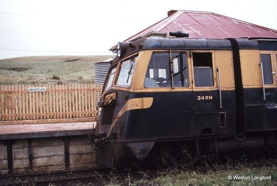 1977 - Anderson Down Railcar 34 RM