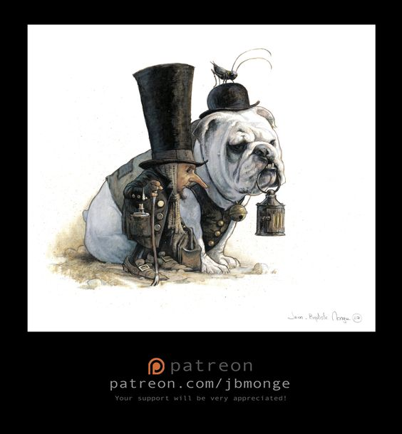ArtStation - London crooks, Jean-Baptiste Monge