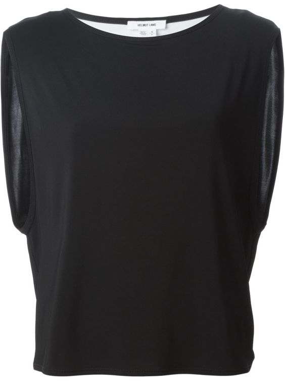 #helmutlang #tops #boxy #black #tshirts #womens #fashion www.jofre.eu