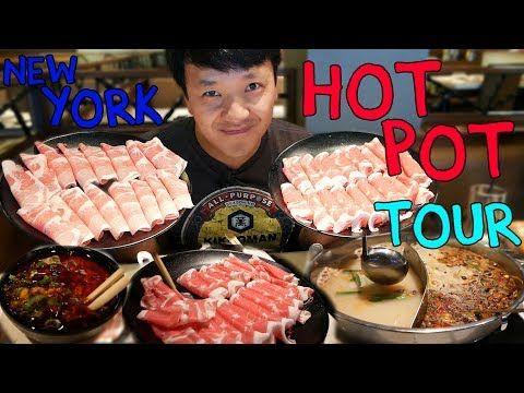 All You Can Eat Hotpot Buffet Tour Of New York Part 1 Youtube Eat Buffet Restaurant Best Buffet