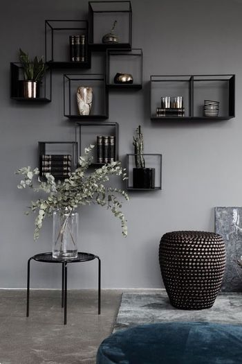 3 X Inspiratie Voor Stijlvolle En Creatieve Wanddecoratie Woonblog Grijze Muren Woonkamer Interieur Woonkamer Huis Interieur
