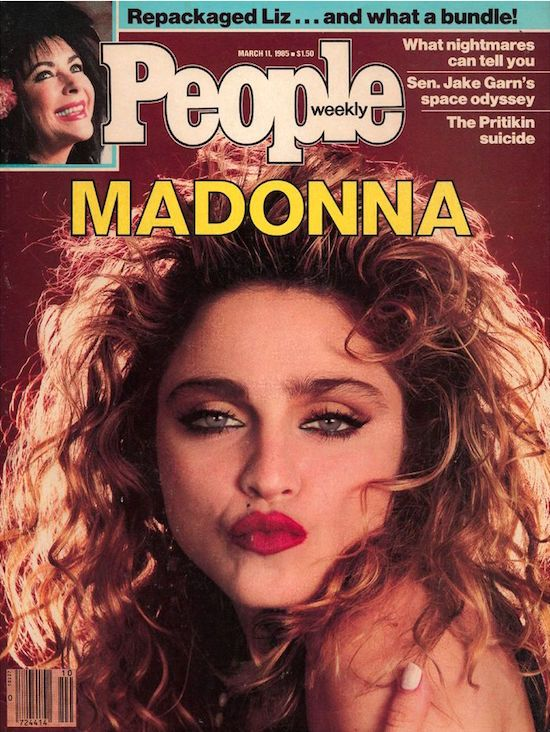 March 11 1985 People Magazine Covers People Magazine Madonna