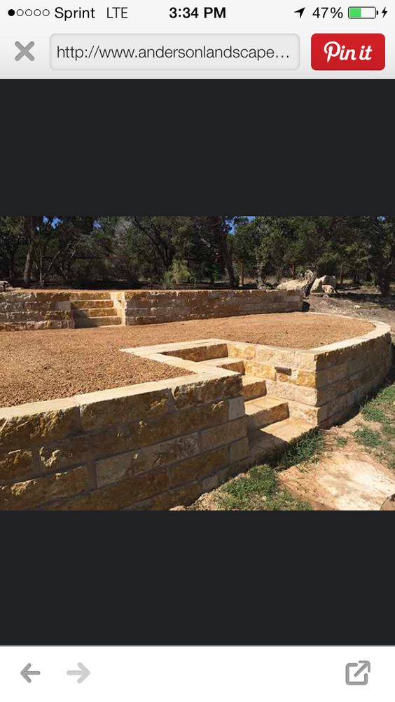 Retaining walls, stone, patios, landscaping, outdoor living