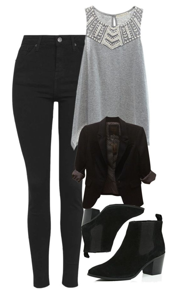 """""""Katherine Pierce Inspired Outfit"""" by mytvdstyle ❤ liked on Polyvore featuring moda, Topshop, Copper Key, River Island, The Limited, Inspired, tvd y thevampirediaries"""