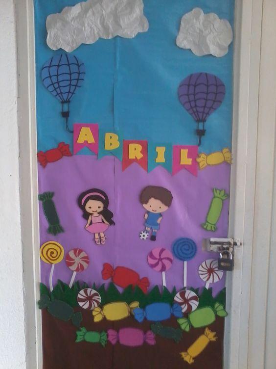 Mes de abril d a del ni o children 39 s day classroom - Puertas para ninos ...