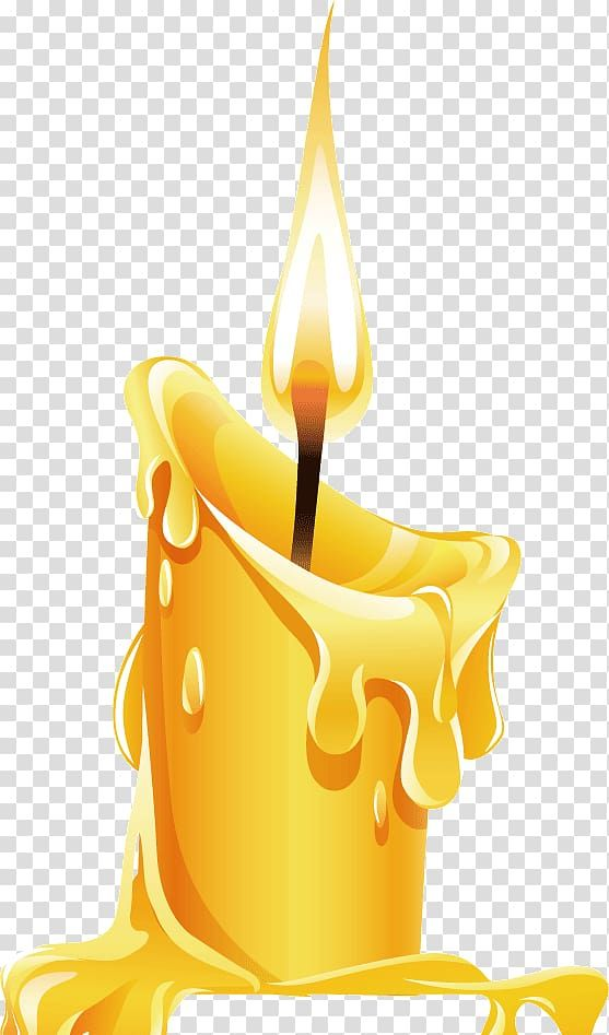 Yellow Candle Candle Birthday Cake Burning Candles Transparent Background Png Clipart Yellow Candles Birthday Cake With Candles Candles