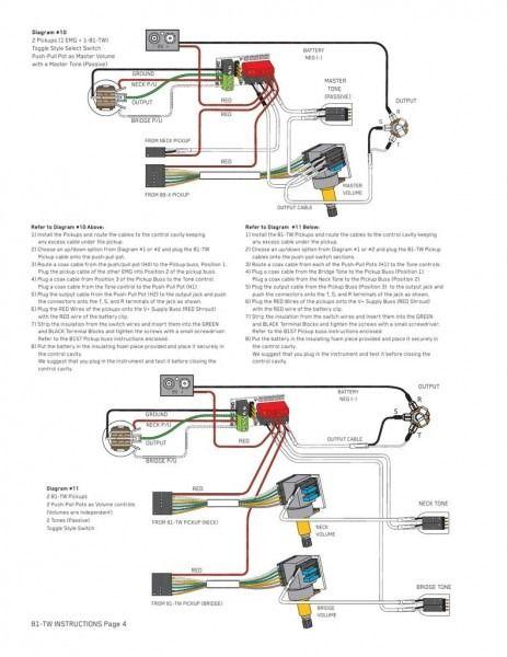 Emg 89 Wiring Diagram Diagram Electric Guitar Accessories Wire