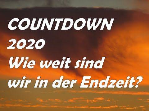 Dr Lothar Gassmann Countdown 2020 Wie Weit Sind Wir In Der Endzeit Bist Du Bereit Youtube Endzeit Countdown Bibel Vers
