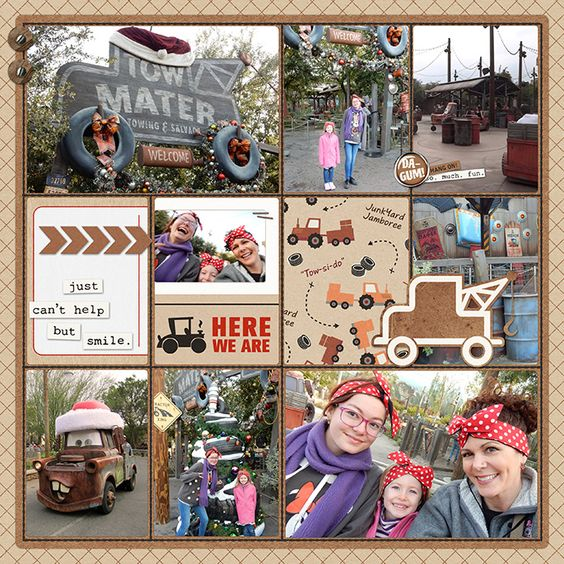 Tow Mater in Cars Land | A Disney Project Mouse Story - A Photo Book from Kathleen Summers - Sahlin Studio Project Mouse