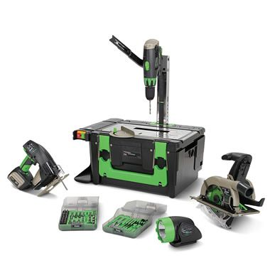 Power8 Power Tool Workshop This Portable Power Tool Kit
